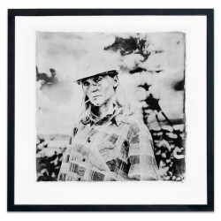 Miner - Alternative process photography print by David Heger
