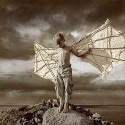 Conceptual Photography - Daedalus First Try